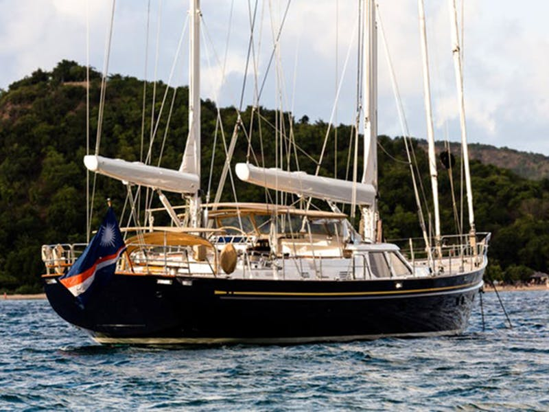Alloy Sailing Yacht BLUE TOO Receives a Major Price Reduction — May 2020