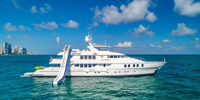Superyacht Owner Hal Griffith and 145' (44.2m) Christensen M/Y I Love This Boat