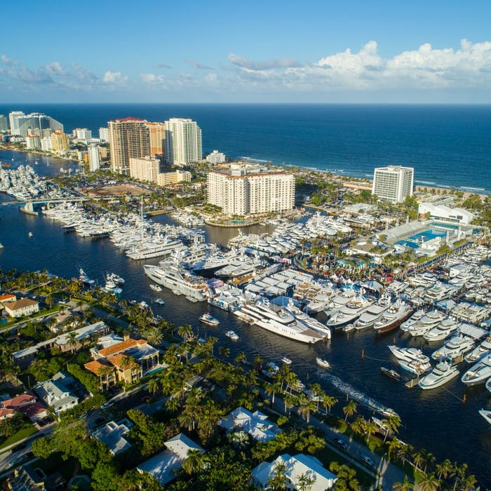 FORT LAUDERDALE INTERNATIONAL BOAT SHOW 2019 — ON THE DOCKS