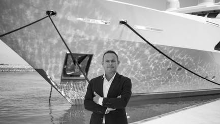 Martin Holmes Asia Luxury Yacht Sales Manager