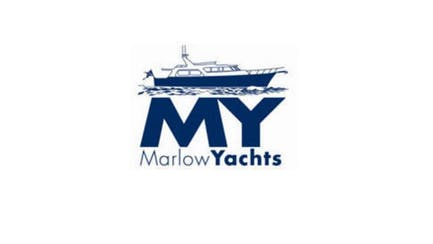 Marlow Yachts brand and shipyard logo