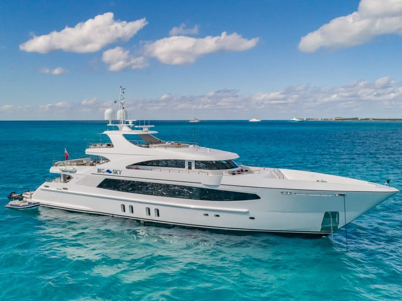 157' (48m) Oceanfast BIG SKY Receives a $1 Million Price Reduction