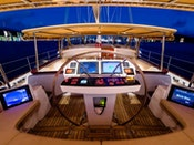 Alloy Sailing Yacht BLUE TOO Helm