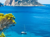 Mediterranean Ocean and D'Hort Ibiza yacht charters and vedra cala