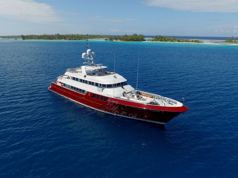 150' (45.72m) Cheoy Lee QING Now for Sale