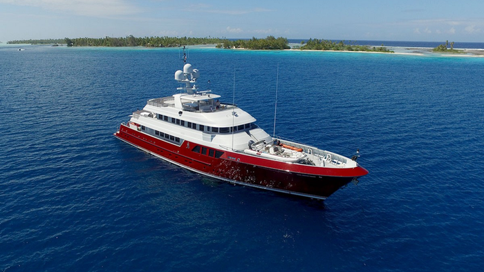 150′ (45.72m) Cheoy Lee QING Now for Sale