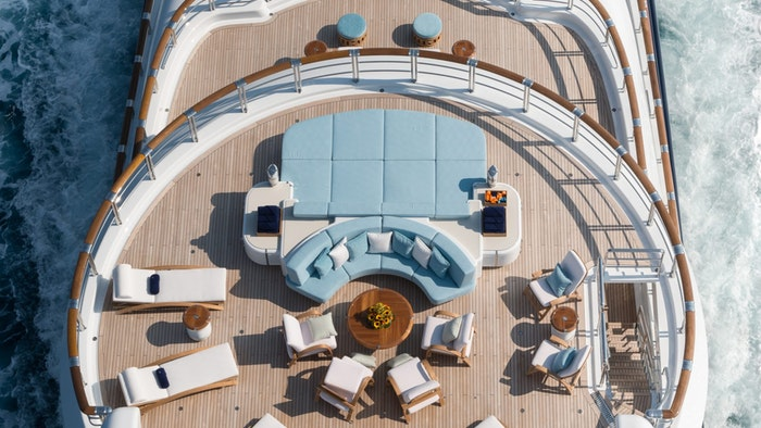 Furniture Fit for a Superyacht