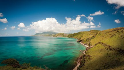 st kitts and caribbean luxury yacht charter guide aerial
