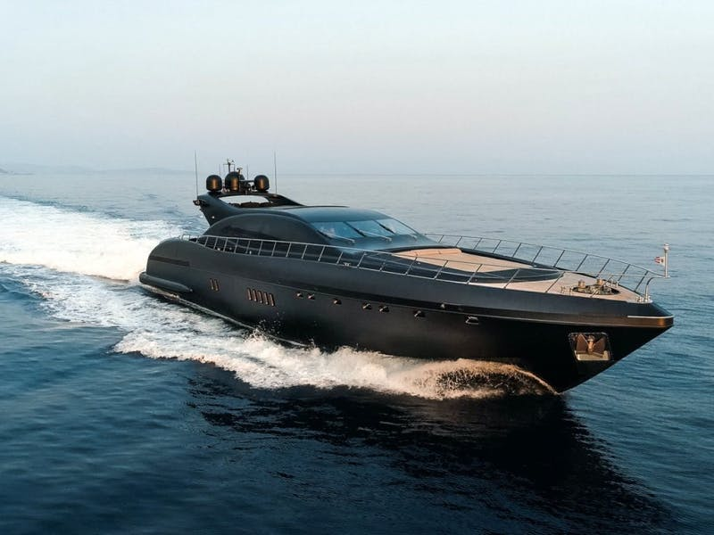 108' (32.92m) Mangusta NEOPRENE Sold