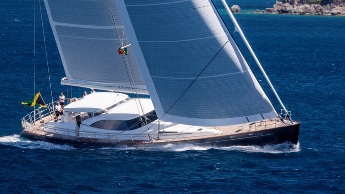 DUBOIS/FITZROY SAILING YACHT MIA CARA FOR SALE WITH NORTHROP & JOHNSON
