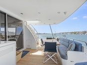 Cheoy Lee Yachtfisher MINDY Aft Deck