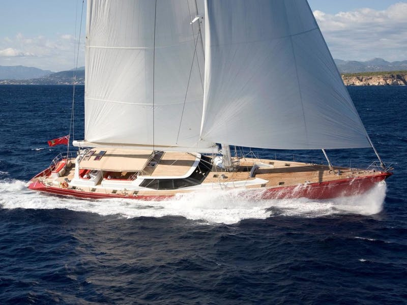 140' (42.6m) Vitters Sailing Yacht APHRODITE A Sold