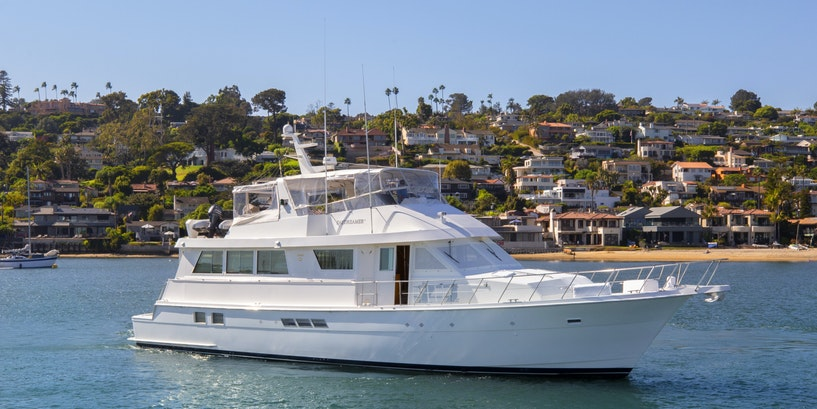 70′ (21.34m) Hatteras DAYDREAMER IV Now for Sale