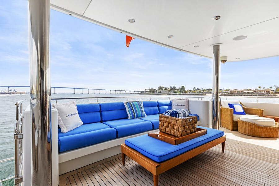 Tendar & Toys for APHRODITE Private Luxury Yacht For charter