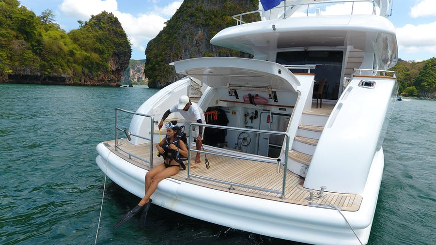 Features for AVELINE Private Luxury Yacht For charter