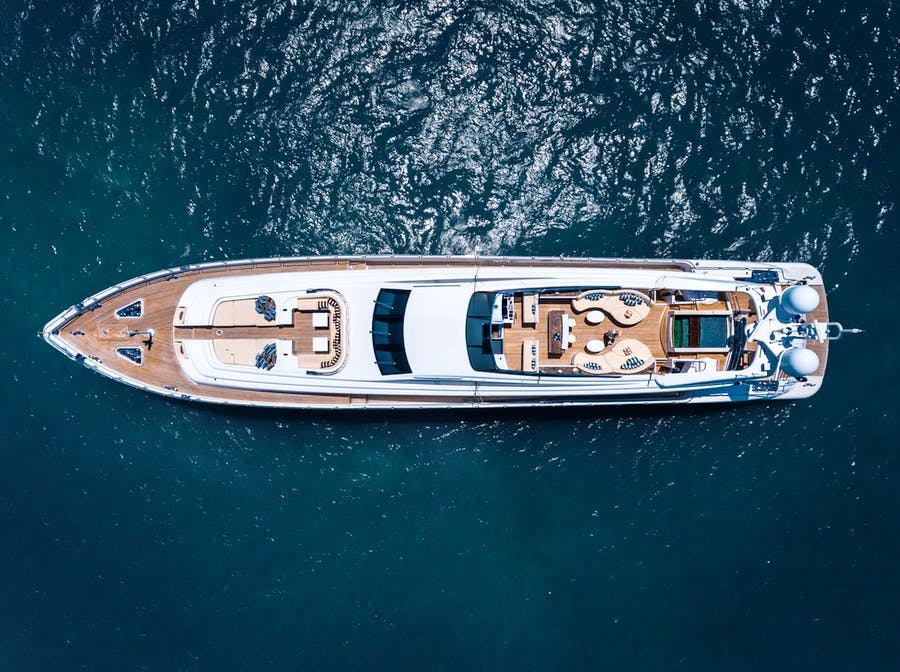 Tendar & Toys for TUTTO LE MARRANE Private Luxury Yacht For charter