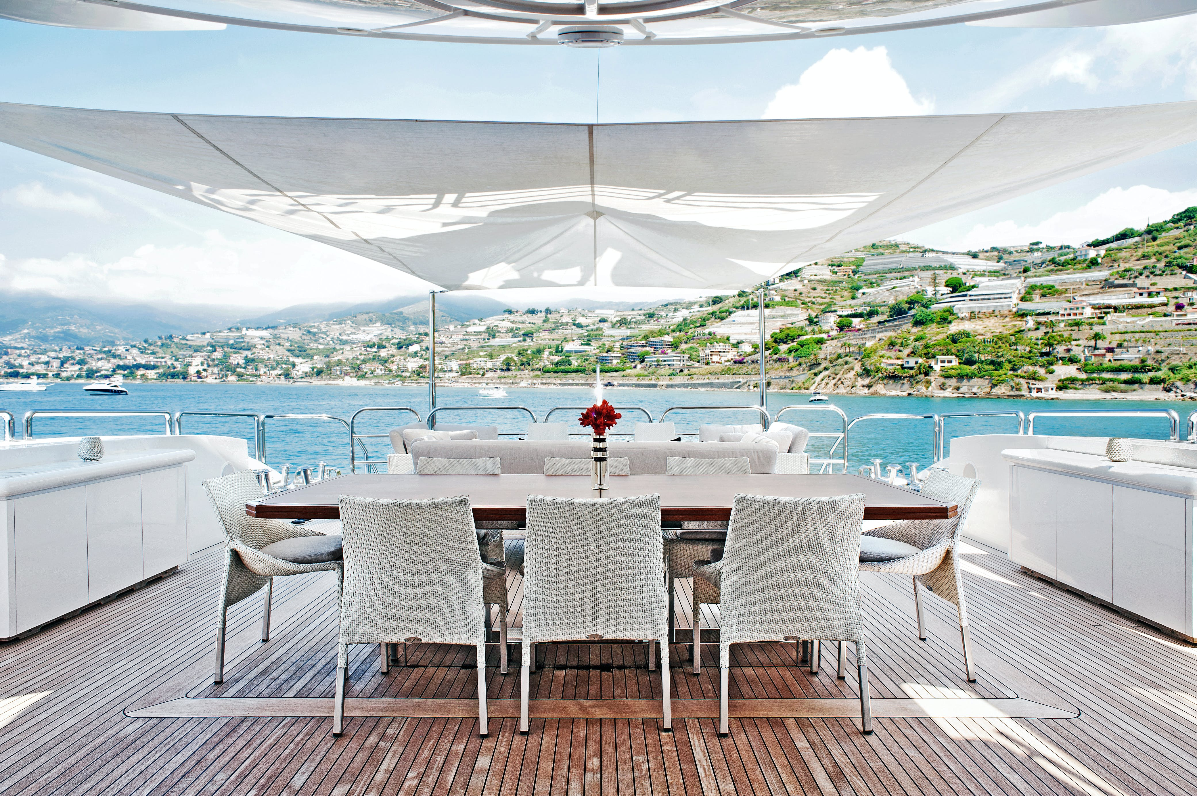 Seasonal Rates for TUTTO LE MARRANE Private Luxury Yacht For Charter