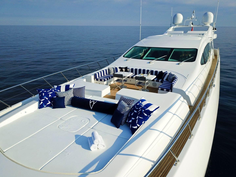Seasonal Rates for VENI VIDI VICI (VVV) Private Luxury Yacht For Charter