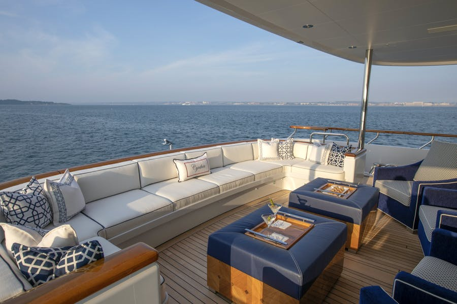 Features for CYNTHIA Private Luxury Yacht For charter