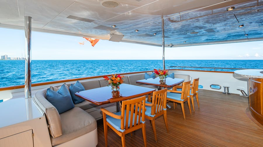 Features for TOP FIVE Private Luxury Yacht For charter