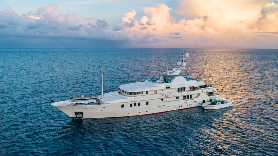 Tendar & Toys for NITA K II Private Luxury Yacht For charter