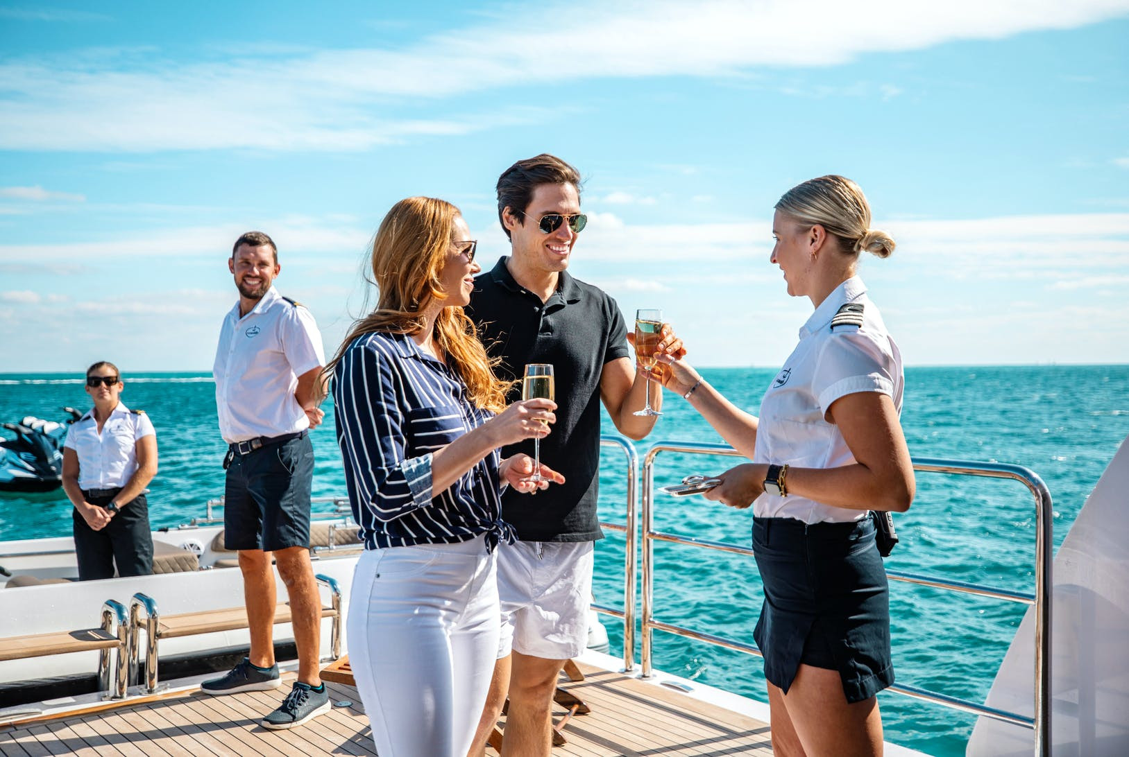 Seasonal Rates for LUMIERE Private Luxury Yacht For Charter