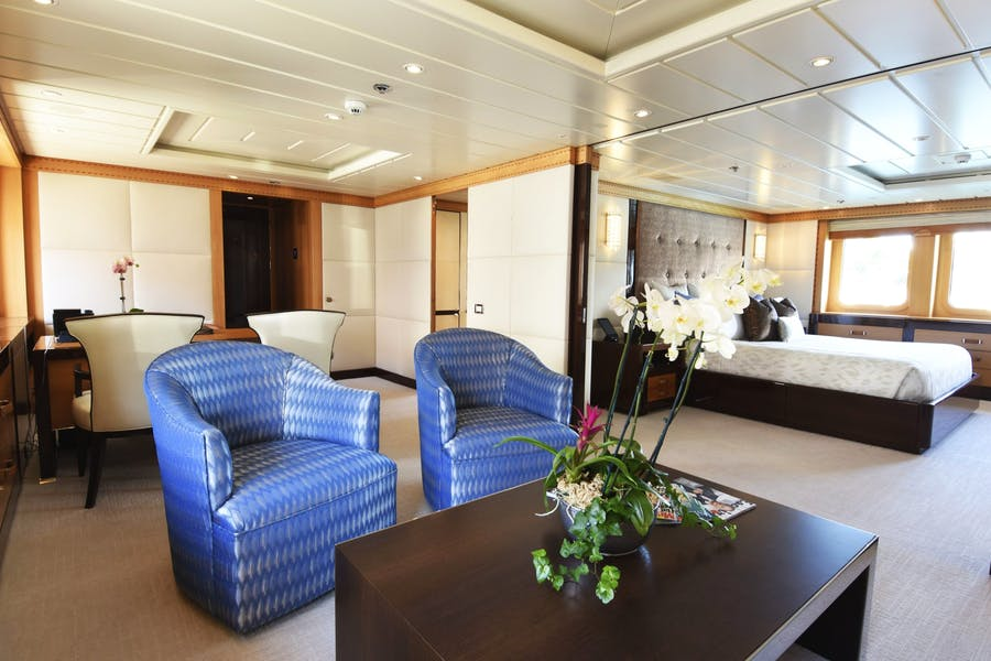 Features for NITA K II Private Luxury Yacht For charter