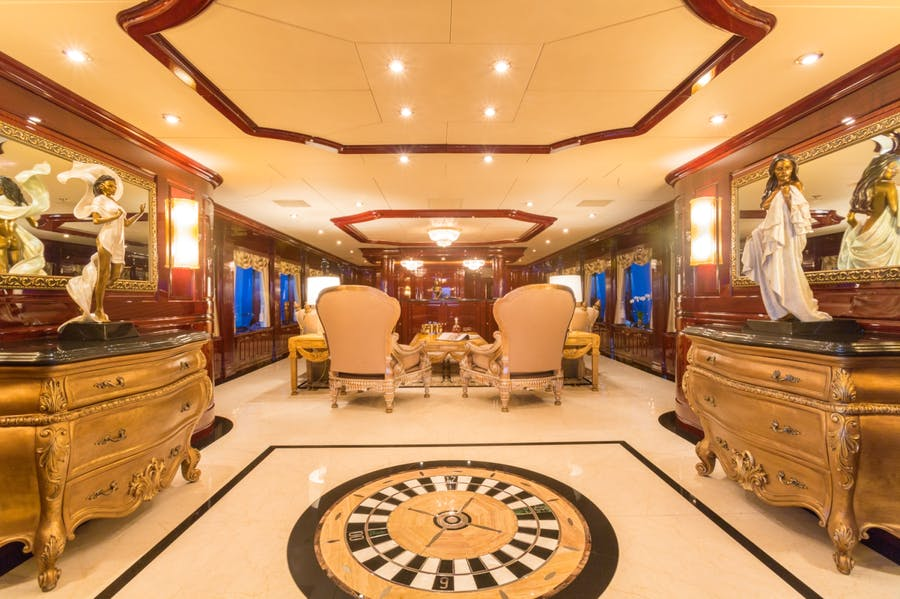 Features for CASINO ROYALE Private Luxury Yacht For charter