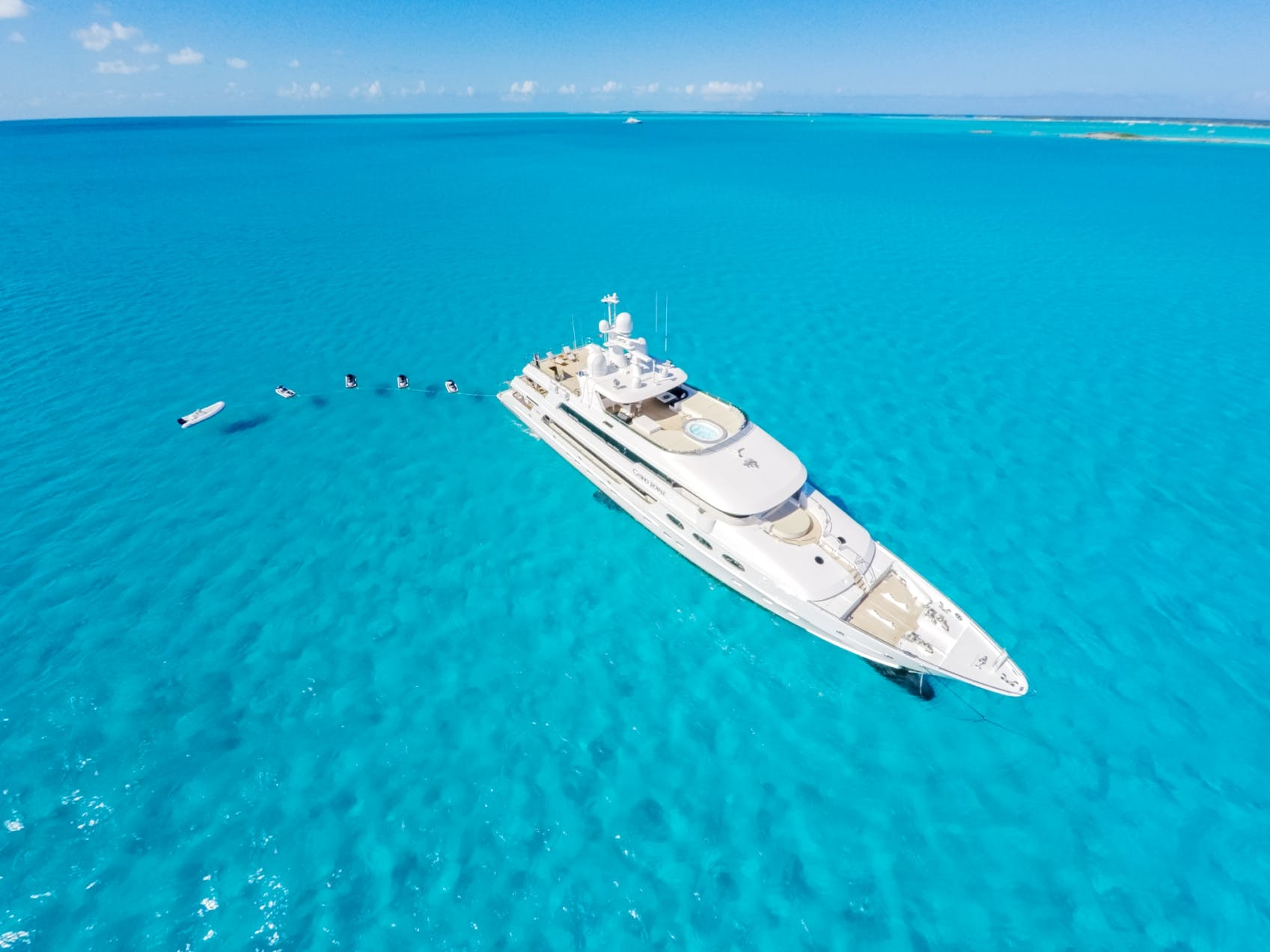 Seasonal Rates for CASINO ROYALE Private Luxury Yacht For Charter