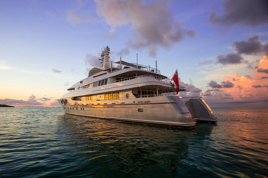 Tendar & Toys for DREAM Private Luxury Yacht For charter