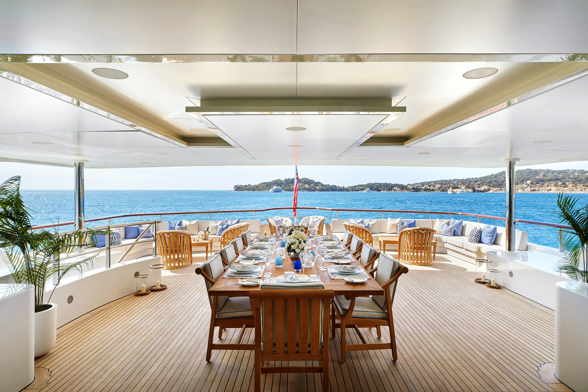 Seasonal Rates for ANDREAS L Private Luxury Yacht For Charter