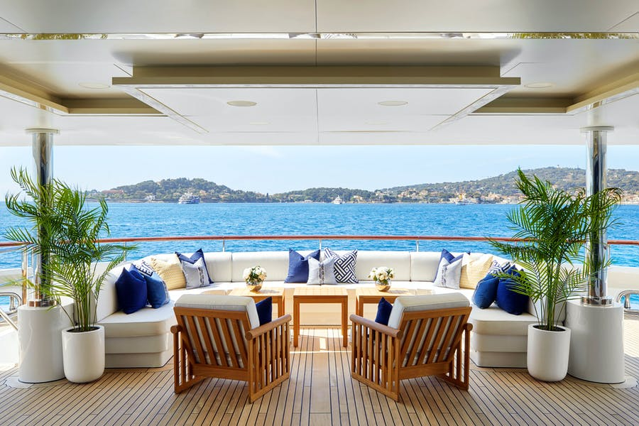 Tendar & Toys for ANDREAS L Private Luxury Yacht For charter
