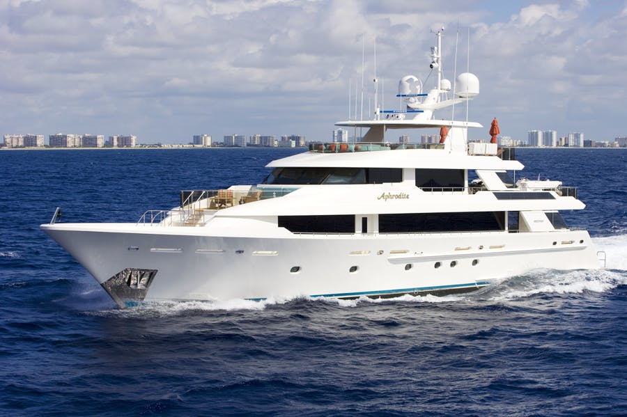 Features for APHRODITE Private Luxury Yacht For charter
