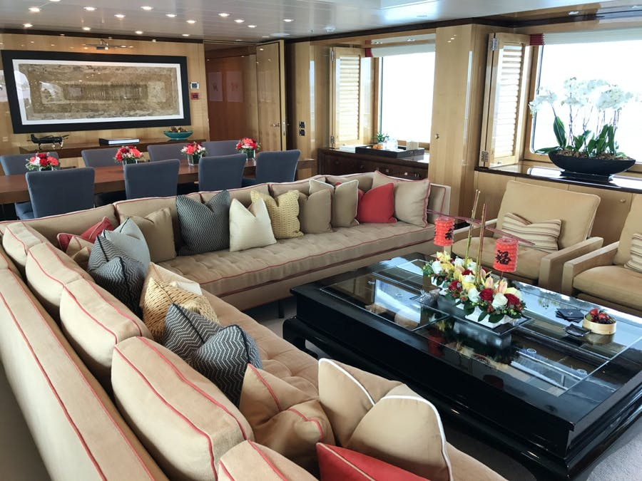 Tendar & Toys for APRIL Private Luxury Yacht For charter