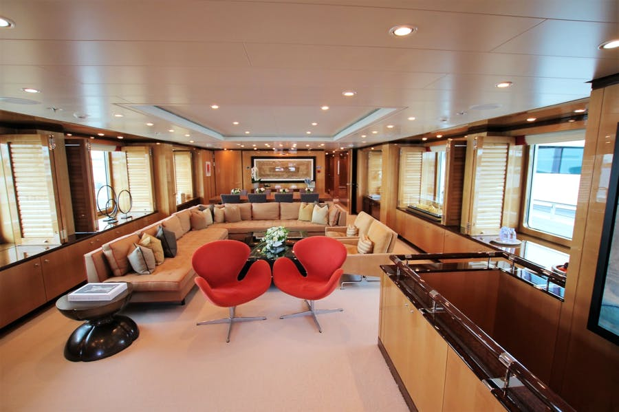 Features for APRIL Private Luxury Yacht For charter