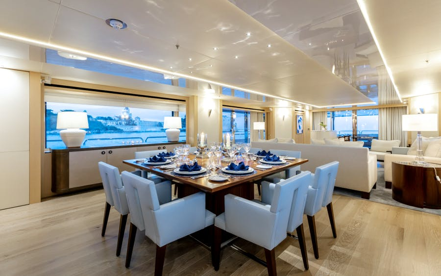Features for ARADOS Private Luxury Yacht For charter