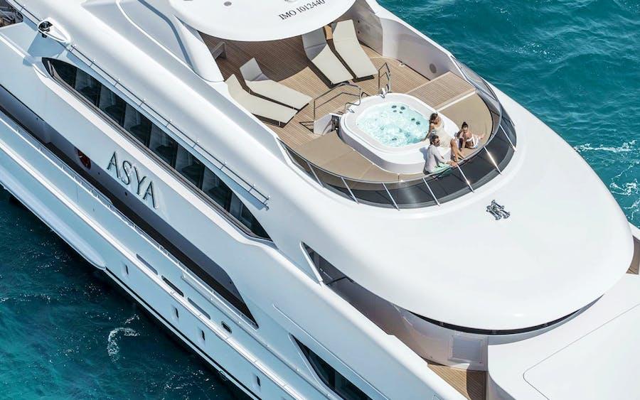 Tendar & Toys for ASYA Private Luxury Yacht For charter