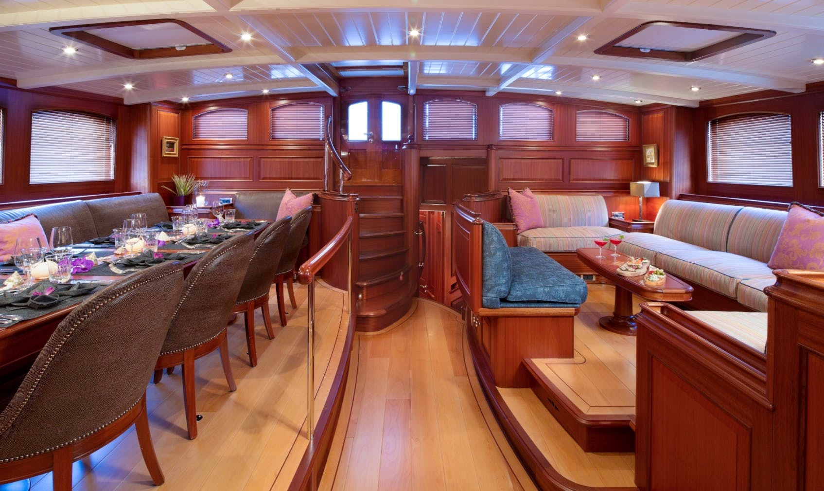 Seasonal Rates for ATHOS Private Luxury Yacht For Charter