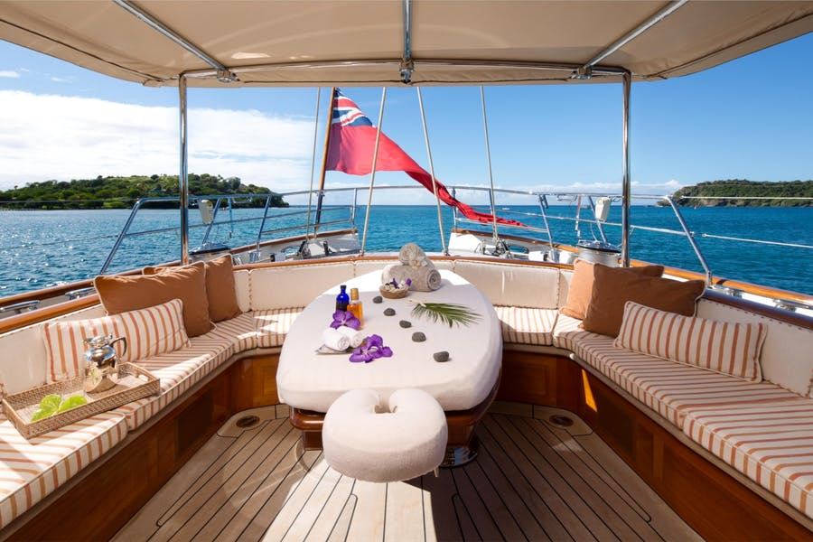 Features for ATHOS Private Luxury Yacht For charter