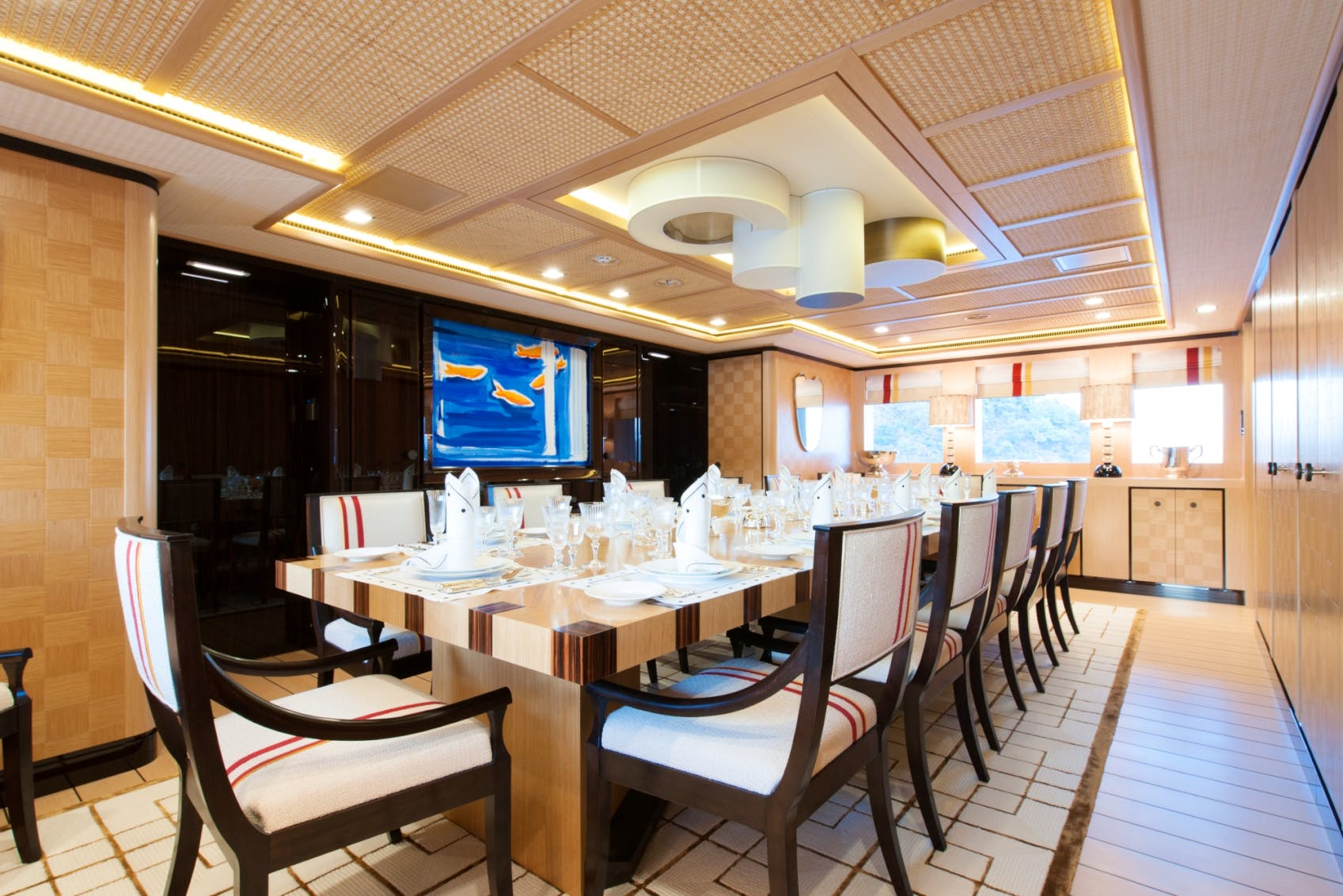 Seasonal Rates for AXIOMA Private Luxury Yacht For Charter