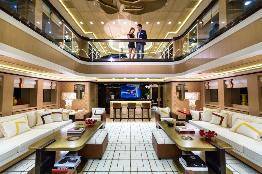 Features for AXIOMA Private Luxury Yacht For charter