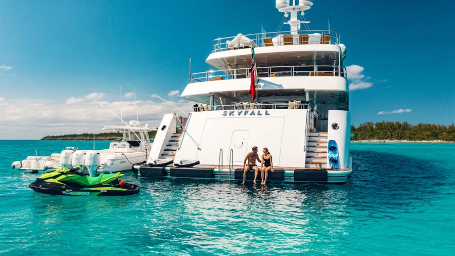 SKYFALL Yacht