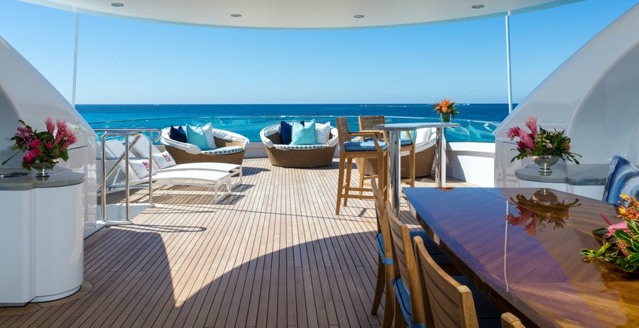 Features for BACA Private Luxury Yacht For charter
