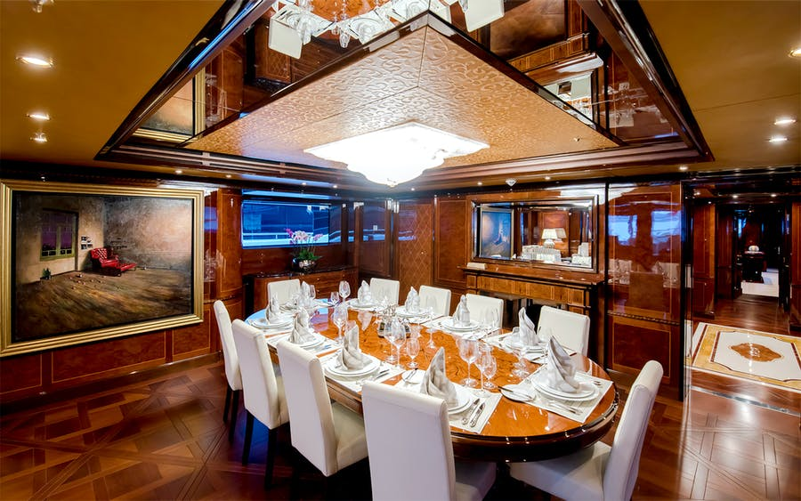 Features for BASH Private Luxury Yacht For charter