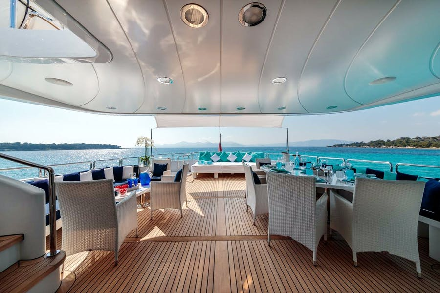 Tendar & Toys for BANG! Private Luxury Yacht For charter