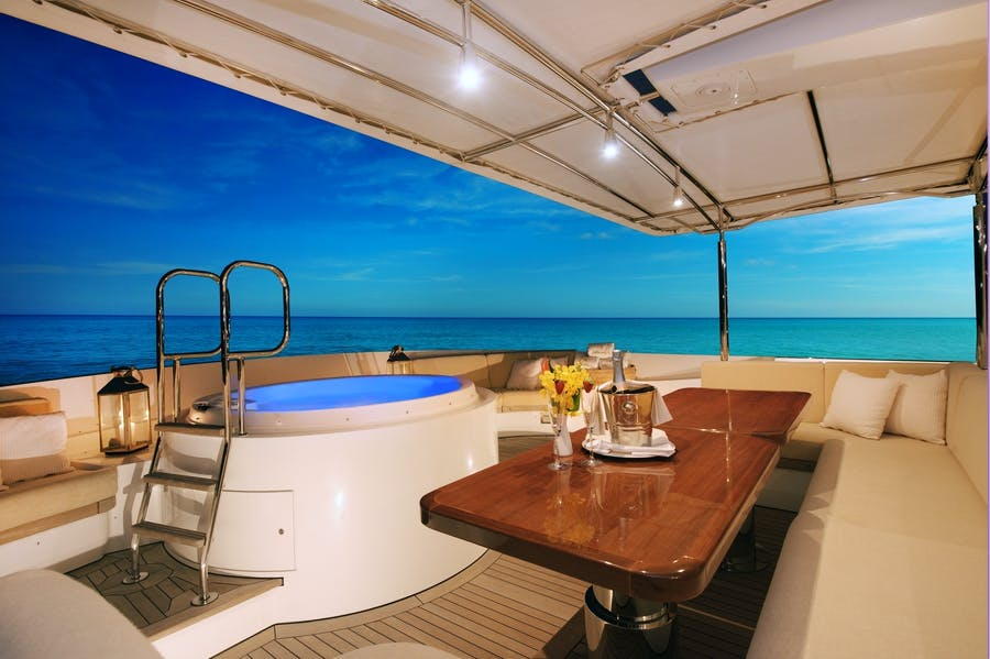 Features for BELUGA Private Luxury Yacht For charter
