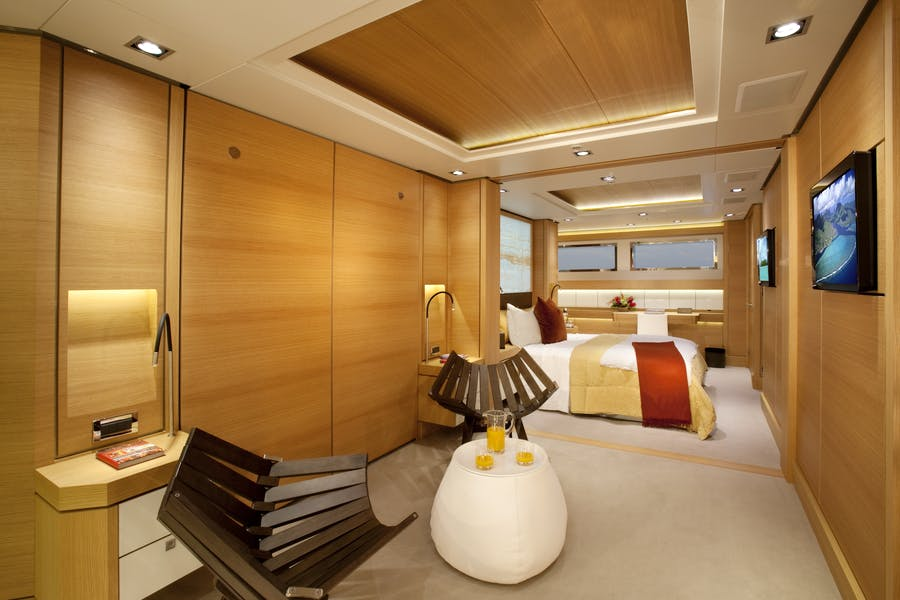 Tendar & Toys for BIG FISH Private Luxury Yacht For charter