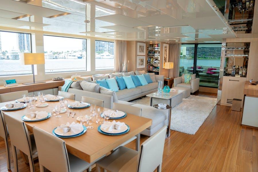 Features for BODACIOUS Private Luxury Yacht For charter