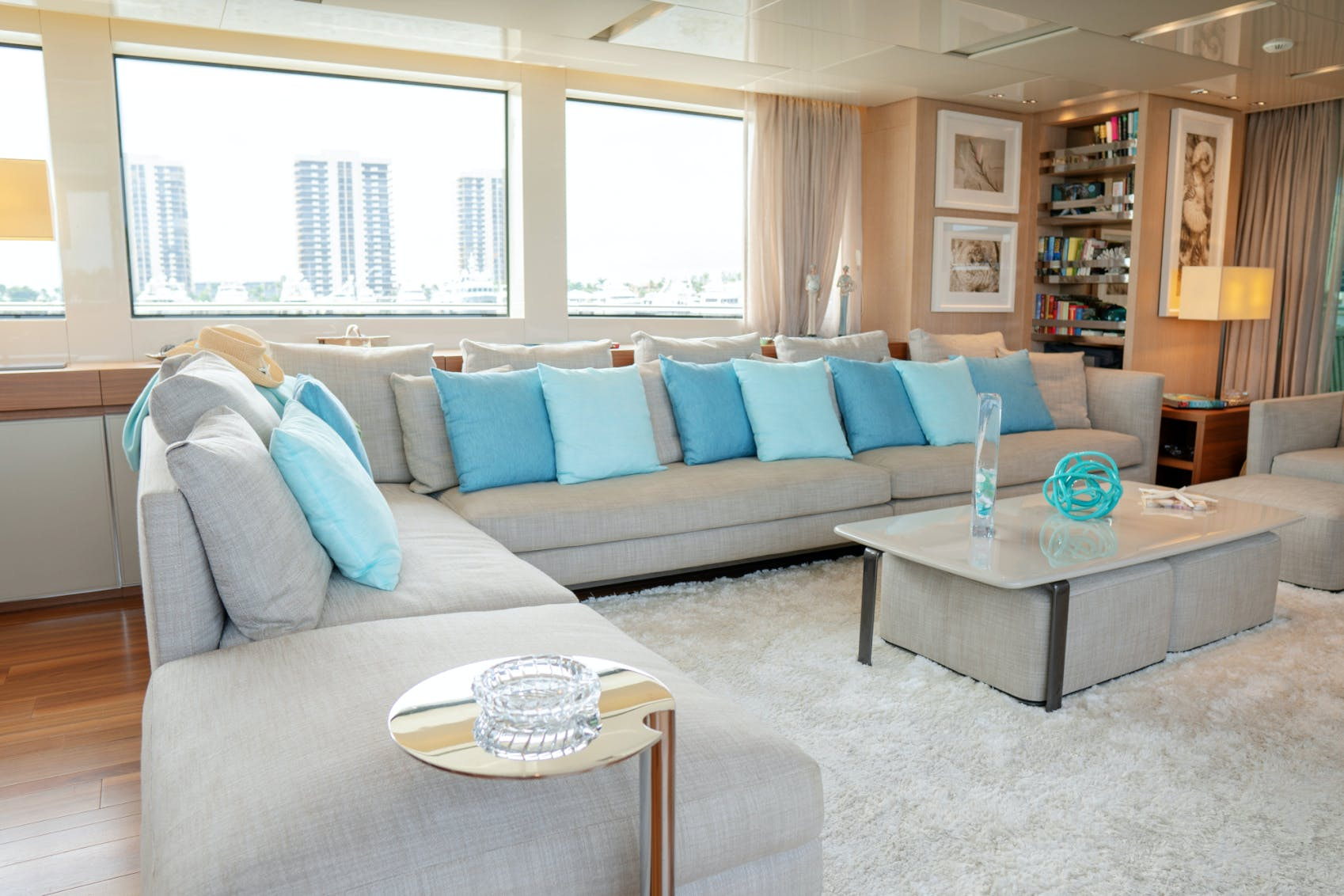 Seasonal Rates for BODACIOUS Private Luxury Yacht For Charter