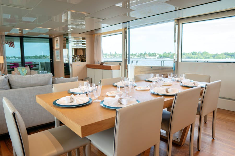 Tendar & Toys for BODACIOUS Private Luxury Yacht For charter